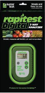 Obrázok 1835 -  Rapitest 3-cestný digitálny analyzér pH pôdy, teploty pôdy a úrodnosti pôdy /N-P-K/